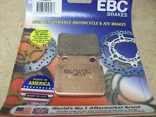 NEW REAR EBC SINTERED BRAKE PADS SUZUKI LTR450 LTR 450 LT R450 QUADRACER 2006-09
