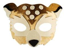 Fabric Owl Eye Mask Furry Childrens Adults Fancy Dress Party Boys Girls Animal