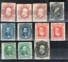Brésil lot de 11 timbres Classiques très Anciens cote : 665 euros à petit prix