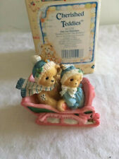 Collectible Cherished Teddies - Our First Christmas - with original box