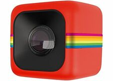 Polaroid POLC3 Cube HD Digital Video Action Camera Camcorder (Red)