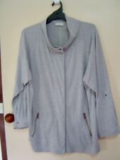 Quality Sue AS NEW!! SMART COSY LONG AUTOGRAPH /sl CARDI/JKT Plus size 22/24