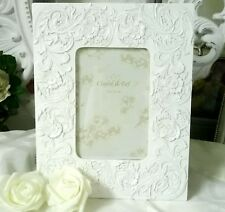 Picture Frame White Shabby Chic Vintage Cottage