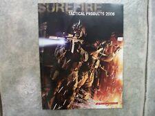 surefire 2008 tactical products catalog weapon light hellfire m900 m500 m952 951