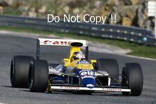 Mark Blundell Williams las pruebas de FW13B F1 temporada 1990 fotografía