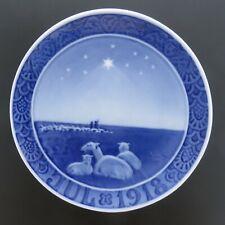 1918 Royal Copenhagen Christmas Plate