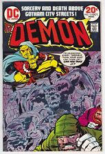 Demon #13 VF+ 8.5 Jack Kirby Story And Art!
