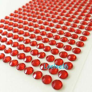 Rhinestone stickers self-adhesive Acrylic bling crystal round pearls iphone