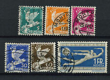 Switzerland 1932 SG#338-343 Int. Disarmament Conference Used Set #A73364