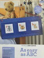 CROSS STITCH CHART Childrens Alphabet ABC Animals Toy Robot Teddy Clown PATTERN