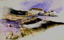 LANDSCAPE A MILL BY A RIVER JOSEPH CLAYTON BENTLEY W/COL 1833