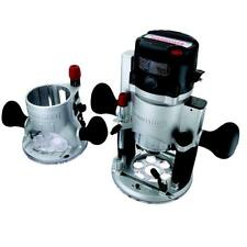 Craftsman 12 Amp 2 HP Fixed/Plunge Base Router with Soft Start Technology