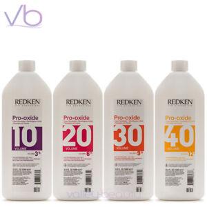 REDKEN Pro-Oxide Cream Developer 1000ml (10, 20, 30, 40, Volume)