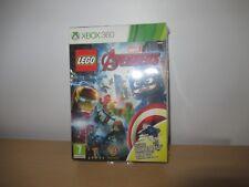 Marvel Avengers Lego Xbox 360 Juego con Quinjet Mini Juguete Nuevo Precintado