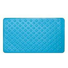 Aqua Suction Grip Rubber Bath Mat with Cosy Bubble Foot Grip