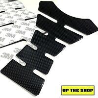 Premium Motorcycle Tank Pad Sticker Protector thick Gel Vinyl Carbon fiber RIBS
