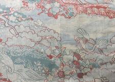 New listing Vintage Designer Fabric Sample Jack Valentine Full Yard+ Cotton/Linen
