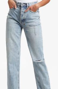 KSUBI - Brooklyn Skream Trashed woman jeans, size 24