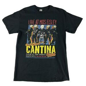 Star Wars Fabulous Cantina Band Live At Mos Eisley T-shirt Tee Size M