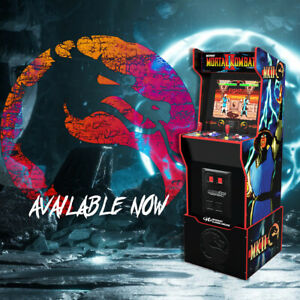 Arcade1Up | UK EXCLUSIVE | Mortal Kombat Midway Legacy Edition with 12 Games