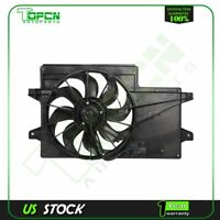 A/C Condenser Radiator New Cooling Fan Fits 2008 2009 2010 2011 Ford Focus 2.0L