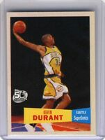 "2007-08 TOPPS ""1957-58"" KEVIN DURANT RC, X  2 mint from pack"