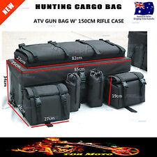 Front Rack ATV Hunting Gun Bag Rifle Case Storage Cargo Bag Farm Camping Gear
