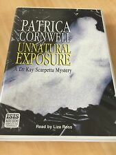 PATRICIA CORNWELL UNNATURAL EXPOSURE KAY SCARPETTA 8 AUDIO CASSETTE BOX SET AAH
