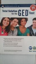 Total Solution for the GED Test Book + Online 100% Aligned for the 2014 GED Test