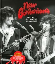 Outlaws, Gunslingers & Guitars- New Barbarians (Rolling Stones) Book & CD- New