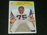 1966 PHILADELPHIA FOOTBALL #96 DAVE DEACON JONES LOS ANGLES RAMS
