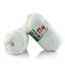 Bamboo Cotton Warm Soft Natural Knitting Crochet Knitwear Wool Yarn 50g New Hot