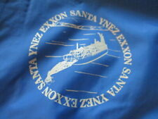 Vintage JC Penney Label - 70s EXXON SANTA YNEZ BARGE Snap Button (LG) Jacket