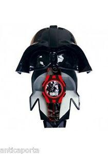 Orologio Star Wars Dart Fener con Scatola 3d Maschera Originale Disney