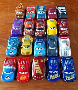 Cars Mini Racers lot of 20 - Disney Cars Metal Mini Racers