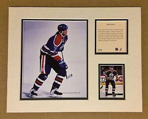 Edmonton Oilers JASON ARNOTT 1994 Hockey 11x14 MATTED Kelly Rusell Print