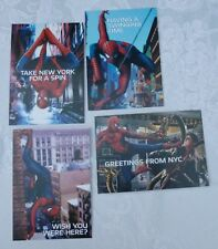 SPIDER-MAN 2 THE GAME PS2 SET OF 4 POSTCARDS 2004