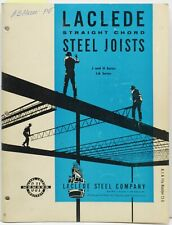 Laclede Catalog Asbestos Straight Cord Steel Joists 1962 Steel Joist Institute