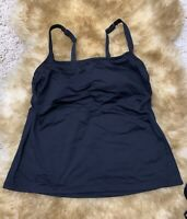 Thuasne Thamert black polyamide Camisole Top sleepwear nightwear size 34 cup B