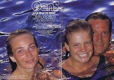 COUPURE DE PRESSE CLIPPING 1991 SARAH BIASINI   (6 pages)