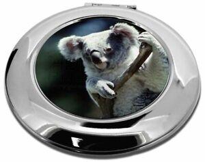 Cute Koala Bear Make-Up Round Compact Mirror Girly Gift, AKB-1CMR