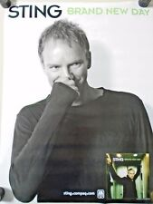 """Sting - Vintage Original poster - Brand new Day - Exc. new cond. -18 x 24"""""""