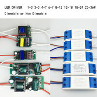 1-36W LED Driver Power Supply LED Constant for LED light 300mA AC-DC transformer