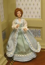 Debra Hammond Colonial Young Woman - Artisan Dollhouse Miniature