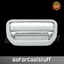 For 06-14 Honda Ridgeline Chrome Tailgate Cover W/Out Camera Hole