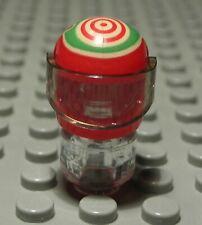 Lego Figur Zubehör Helm Rot mit Dekor                                    (883 #)