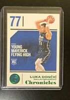 Luka Doncic 2018-19 Panini Chronicles Green Parallel Rookie RC #71