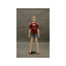 Realistic Fleshtone Full Body Fiberglass Junior/Teen Girls Mannequin with Base