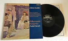 "RARE LP 12"" DECCA SXL 6712 ZOLTAN KODALY ORCHESTRAL WORKS VOL. 1 ANTAL DORATI"