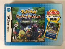 Pokémon Mystery Dungeon Explorers Nintendo DS CIB Complete Authentic Tested
